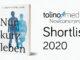 Nur kurz leben auf der Shortlist des tolino media Newcomerpreis 2020